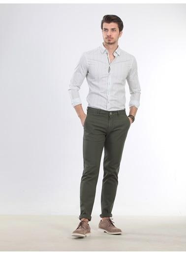 Kip Kip Regular Fit Düz Haki Pantolon Haki
